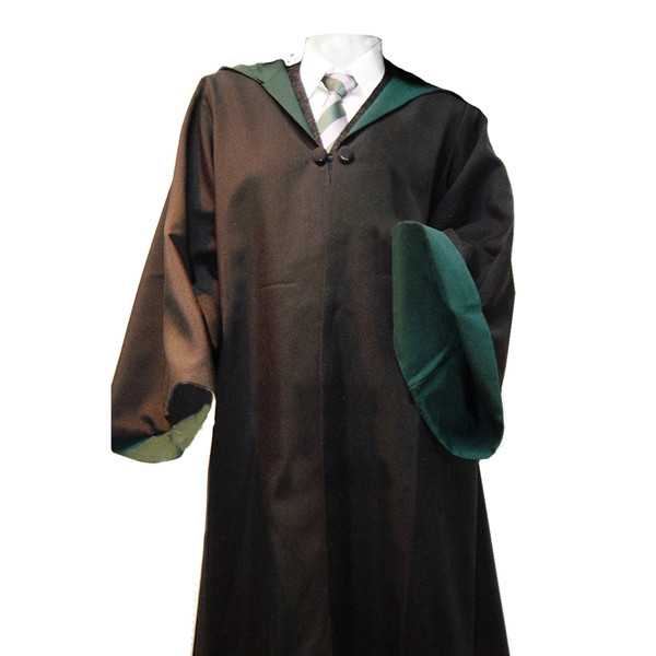 HARRY POTTER slytherin ROBE COSTUMES,SCHOOL UNIFORM