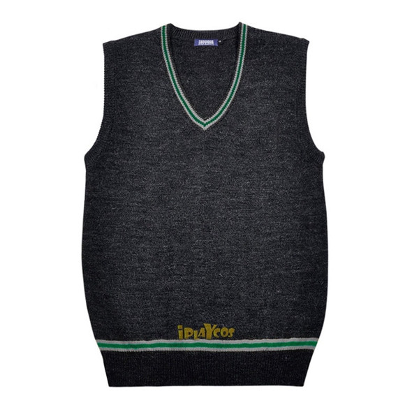 harry potter knitted slytherin School uniform vest