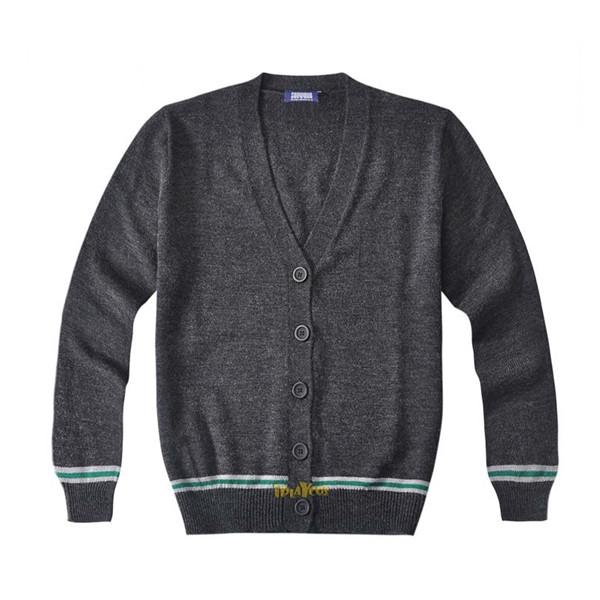 harry potter knitted slytherin School uniform cardigan