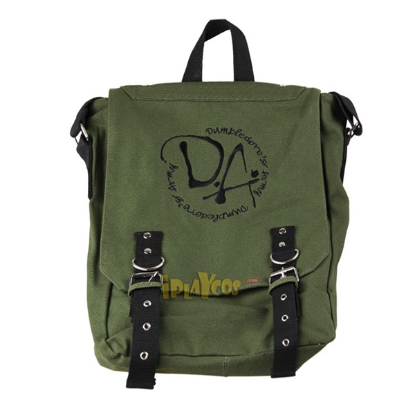 harry potter dumbledurer's army embroidery Sling backpacks DA log green bag