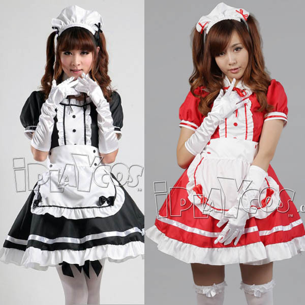 k-on-anime-costume-maid-uniform-pink-black-apron-dress-set-1