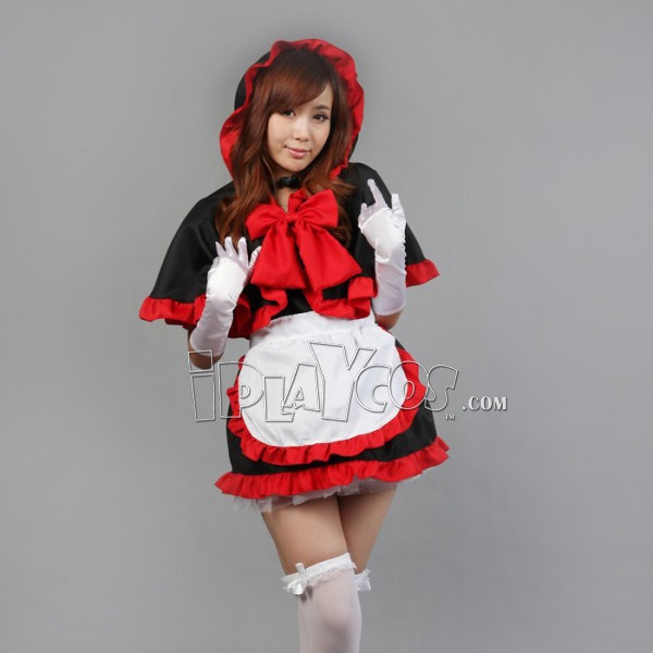 christmas-maid-black-and-red-with-a-hood-cloak-christmas-women-s-cosplay-clothes-apron-dress-set-1