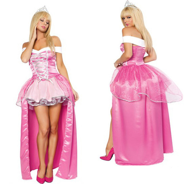 Lovey Sleeping Princess Lolita Alice Snow White Party Lolita Women's Halloween Cosplay Dress