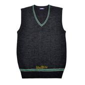 harry potter knitted slytherin School uniform vest