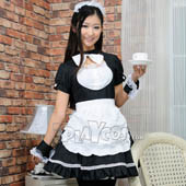 black-and-white-maid-restaurant-uniforms-cosplay-maid-equipment-plus-size-apron-dress-set-s