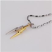 Anime Harry Potter Head Lightning Scar Logo Metal Necklaces Pendants Men Jewelry Key Ring Pendant Chain