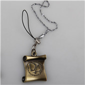 Harry Potter Dumbledore Army DA Log Mobile Phone Chain