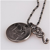 Harry potter DA snake cosplay necklace