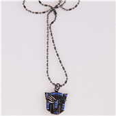 Chain Fashion Steel Transformers Pendant Necklace