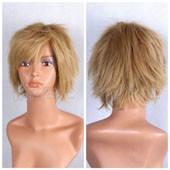 褐色短发假发 高温丝 动漫假发