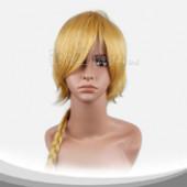 橙色长辫子假发
