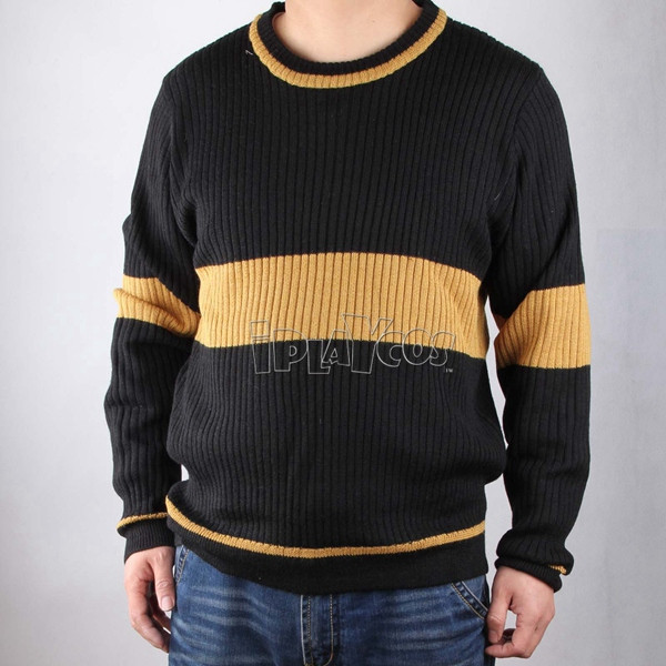 harry potter Quiddich hufflepuff sport knitted garment cosplay costumes