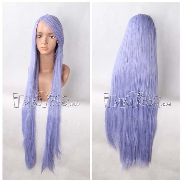 Sky Blue Long Straight Anime Cosplay Wig