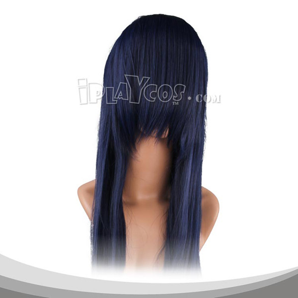 Sapphire Blue Long Straight Cosplay Wig