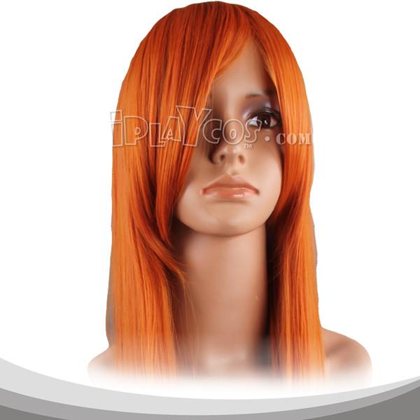 Sun Orange Long Straight Cosplay Wig