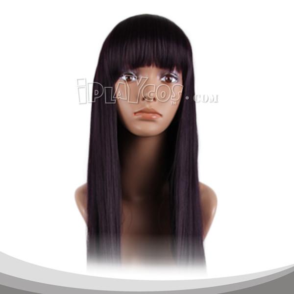 Black Long Straight Cosplay Wig