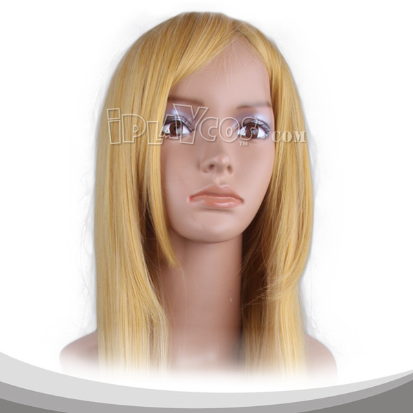 Blonde Long Straight Cosplay Wig