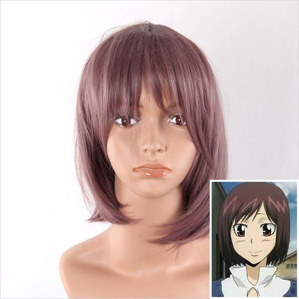 Chocolate Medium Straight Cosplay Wig