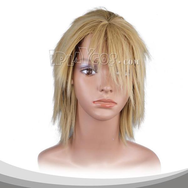 Blonde Medium Straight Cosplay Wig