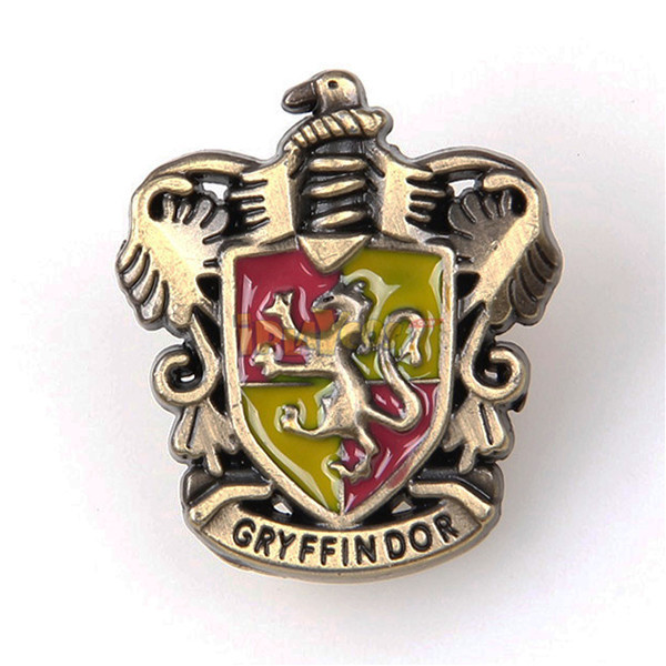 Harry potter Gryffindor badge brooch pin cosplay accessory