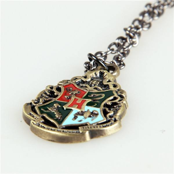 Movie Harry Potter Hogwarts Metal Necklace