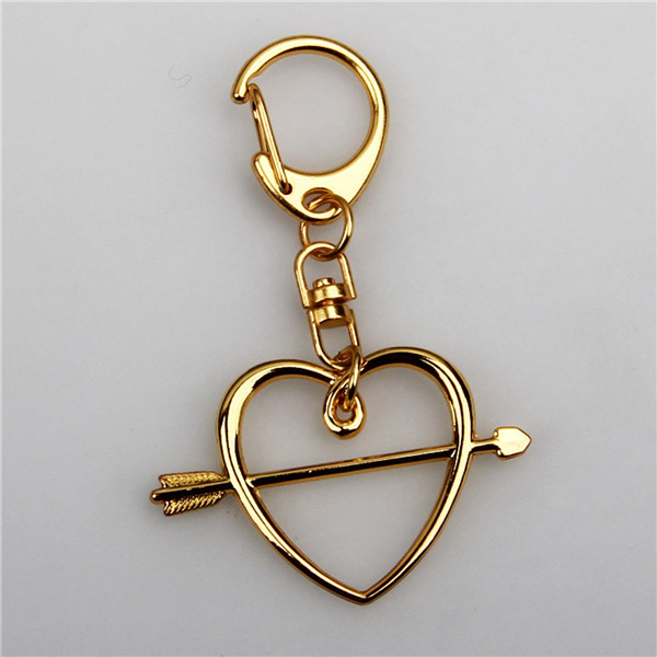 Harry potter Ron Heart keychain for HP fans keychain