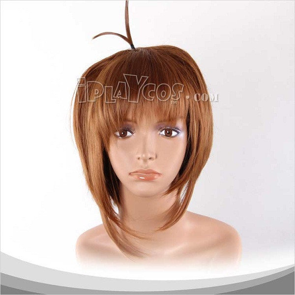 Brown Short Cosplay Wig