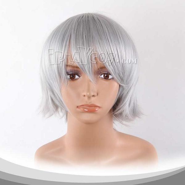 Silver Grey Short Cosplay Wig