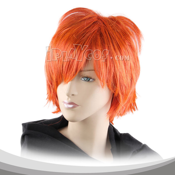 Jacinth Red Short Cosplay Wig