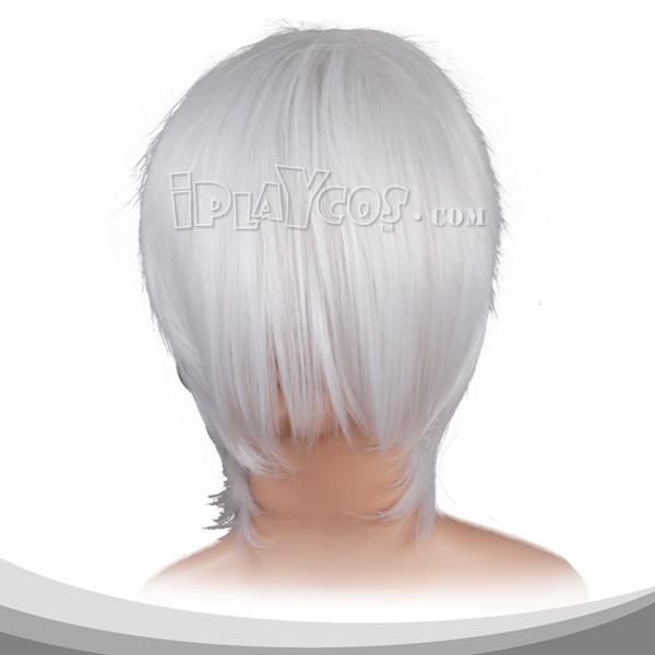 White Short Cosplay Wig