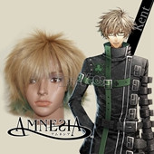 AMNESIA KENT Short Brown Straight Anime Cosplay Wig