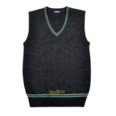 Harry Potter Knitted Slytherin School Uniform Vest Cosplay Costumes
