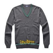 Harry Potter Knitted Slytherin School Uniform V-neck Sweater Cosplay Costumes