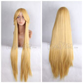 Yellow Long Straight Anime Cosplay Wig