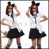 2013-school-uniform-girls-sailor-suit-wear-apron-dress-set-black-maid-costume-party-costume-s