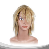 Blonde Medium Straight Cosplay Wig