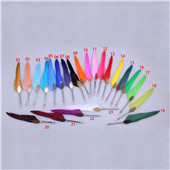 Vintage style fashion quill pen retro feather pen quill dip multicolor