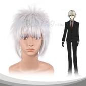 Silver Short Adduction And Hair End Alice Cosplay Wig