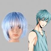 Kuroko Tetsuya Light Sky Blue Short Straight Cosplay Wig