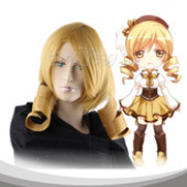 Yellow Long Curly Cosplay Wig