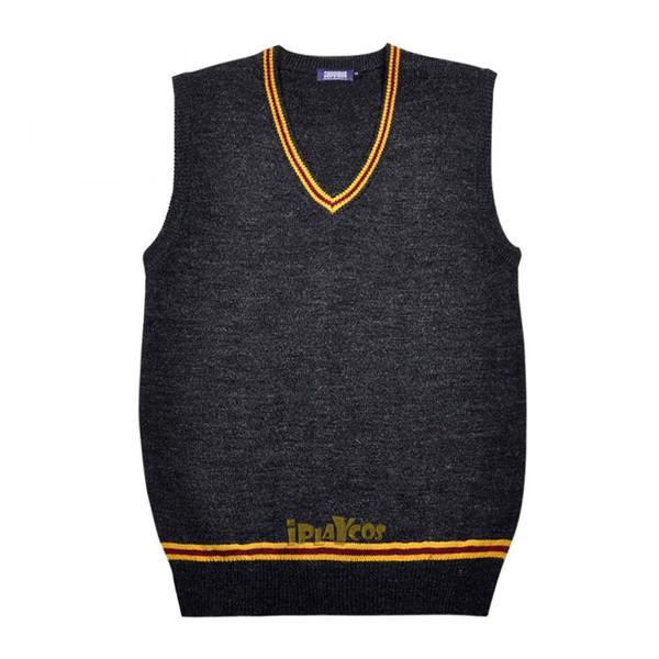 harry potter knitted gryffindor School uniform vest