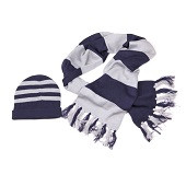 HARRY POTTER Ravenclaw SCARF AND HAT SET