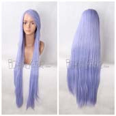 Purple 100cm Long Straight Anime Cosplay Wig