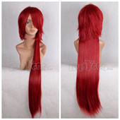 Cardinal Long Ponytail Straight Anime Cosplay Wig