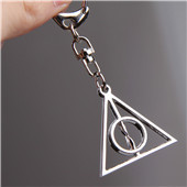 Harry Potter Deathly Hallows key chains Mobile phone chain